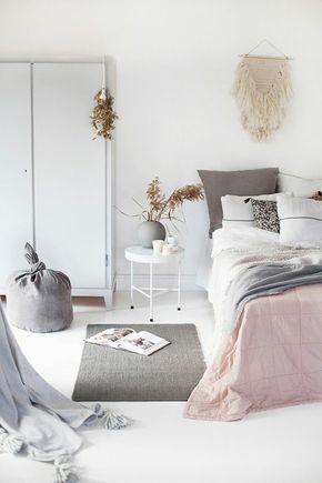 magnifique chambre en beige avec tapis gris nos idees pour votre chambre ado fille