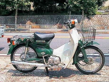 the honda cub - best bike in the world!