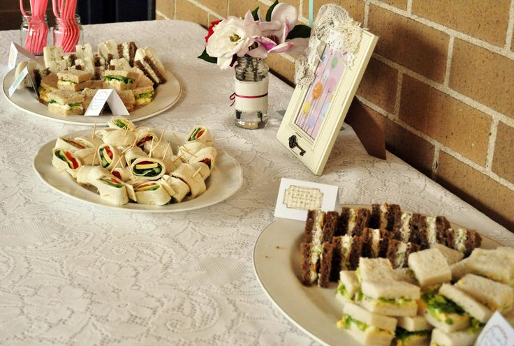 High Tea Finger Food High Tea Garden Party Pinterest