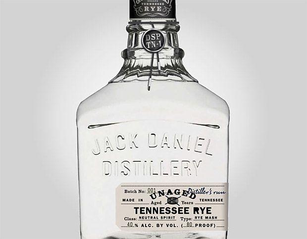 Jack Daniels Unaged Rye Whiskey