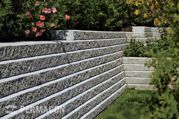 Walls Split Face Universal Slope Block Concrete Block