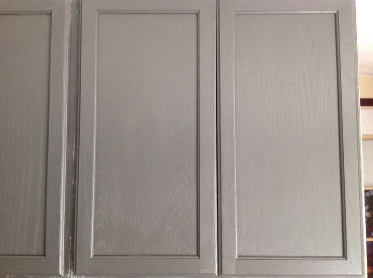 painted oak cabinets step 1