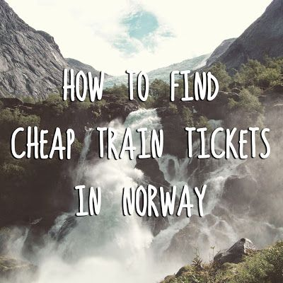 If  you are planning to travel in Norway I have good news for you - it is  quite easy and cheap to travel by train, even though every...