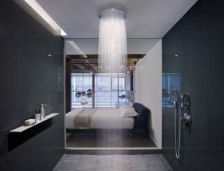 now that is a shower: Showers, Ideas, Rain Shower, Shower Head, Showerhead, Interiors Design, Dreams House, Bathroom, Dreams Shower