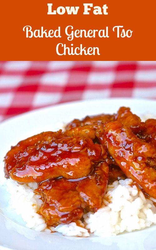 Low Fat Baked General Tso Chicken - Rock Recipes