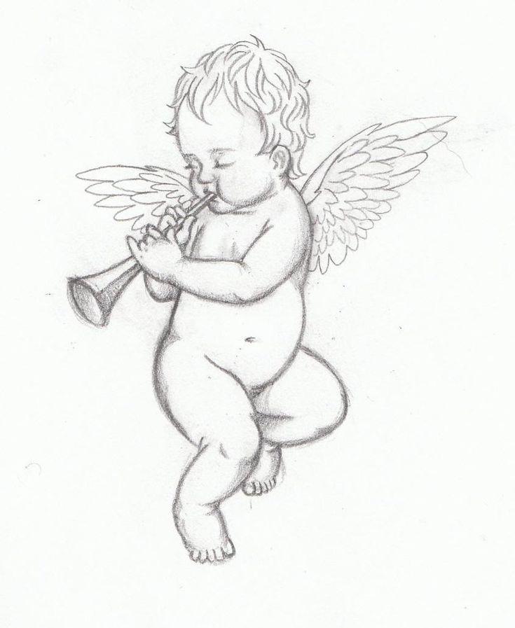 рисунки или картинки ангелов так излишек неудачных