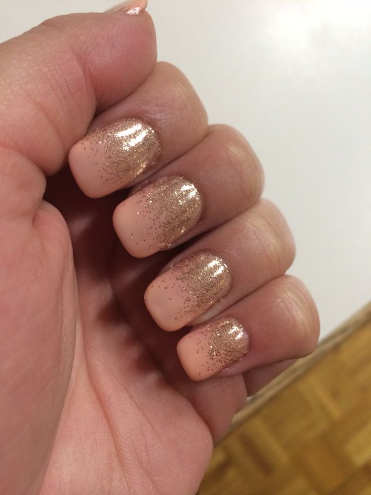 Love my nails ! Gelish :)