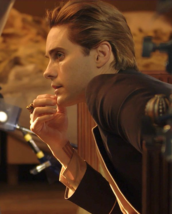 So I so seen Jared's Gucci commercial last night I freaked out because that what everyone wants to fall asleep to at 2 am