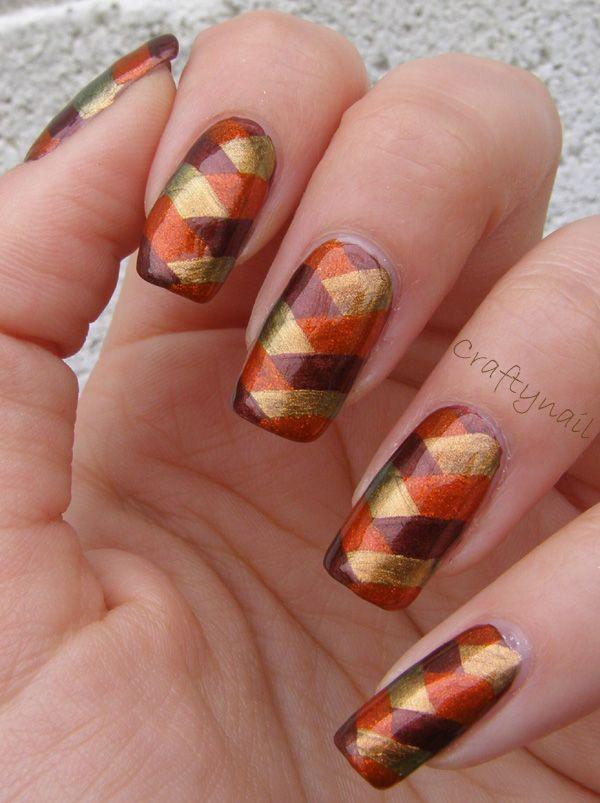 brown_fishtail_nail_art