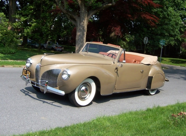 1940 Lincoln Continental Cabriolet & 478 best Lincoln Cars images on Pinterest | Lincoln continental ... markmcfarlin.com