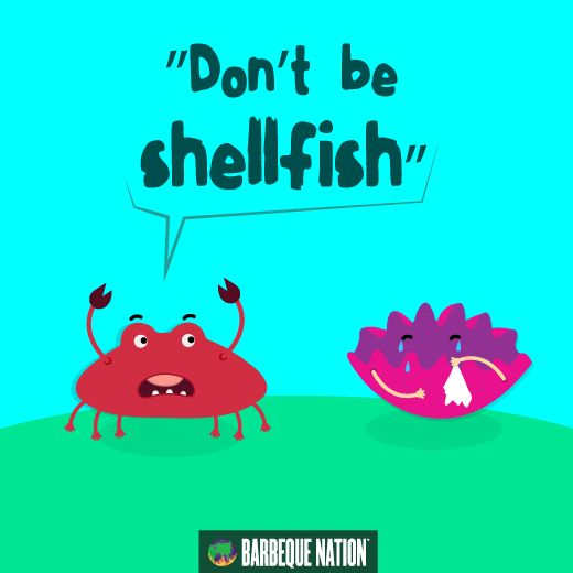 How does the argument go in the sea world? #h#quotes #funnyquotes #humor #foodies #barbequenation #barbeque #barbecue #bbq #bbqn #humorquotes