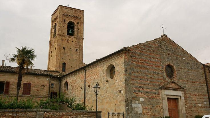 Campanile chiesa Santa Maria a Mare #marcafermana #torredipalme #marche