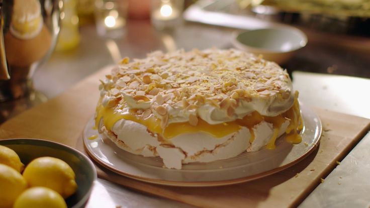 Lemon pavlova recipe