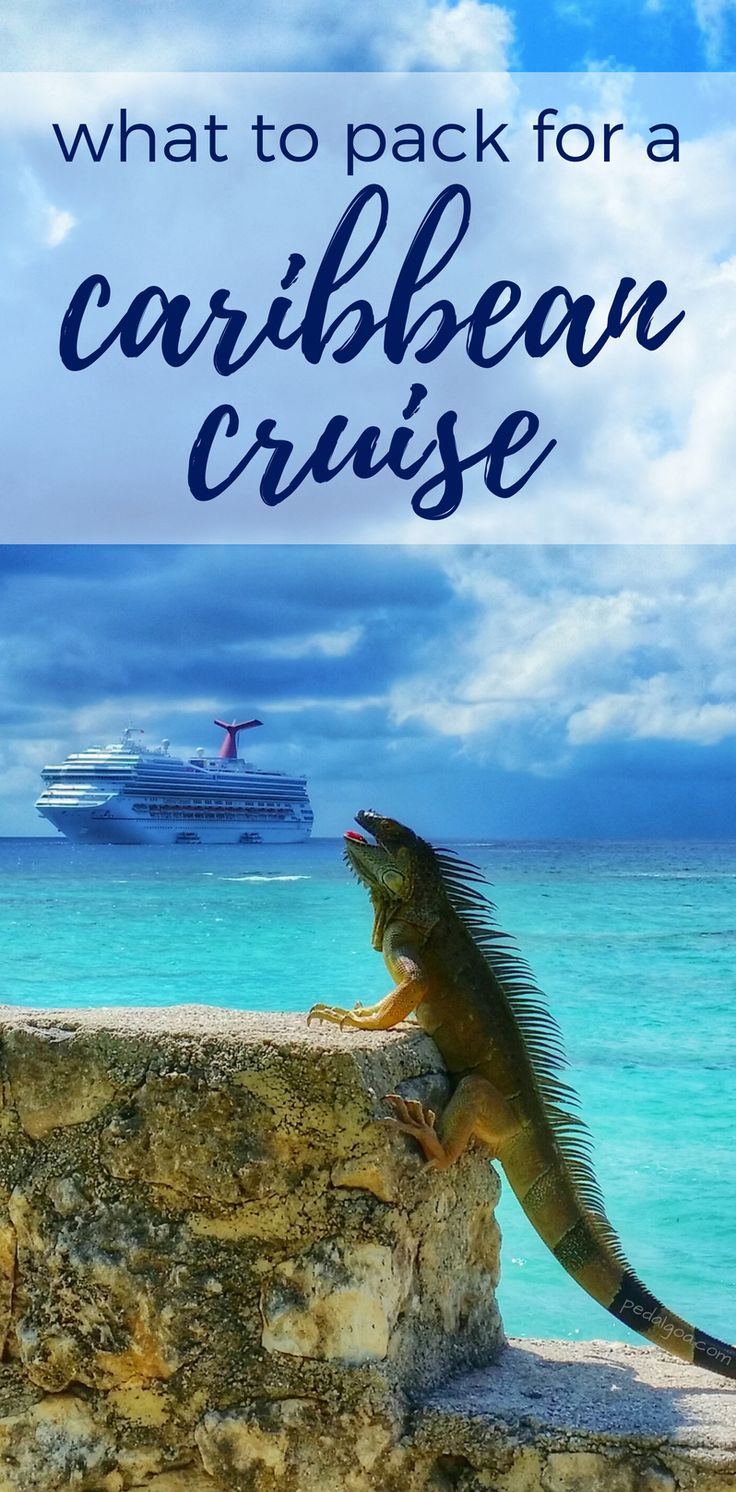 For what to pack for a Caribbean cruise, some packing tips to add to checklist. Also what to wear on a cruise formal night, outfit ideas. Cruise tips, whether it's a short cruise or a 7 day cruise in the summer or winter, with some essentials to add to your cruise packing list and carry-on luggage. Cruise to Bahamas, Caribbean, Alaska with Carnival, Royal Caribbean, Norwegian NCL, Disney, Princess, Holland America... #cruise #cruisetips