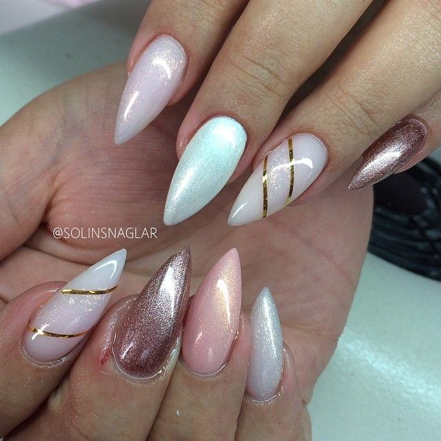 kimskie - 752 Best Stiletto Nails - Nail Trends - Nail Art Images On Pinterest
