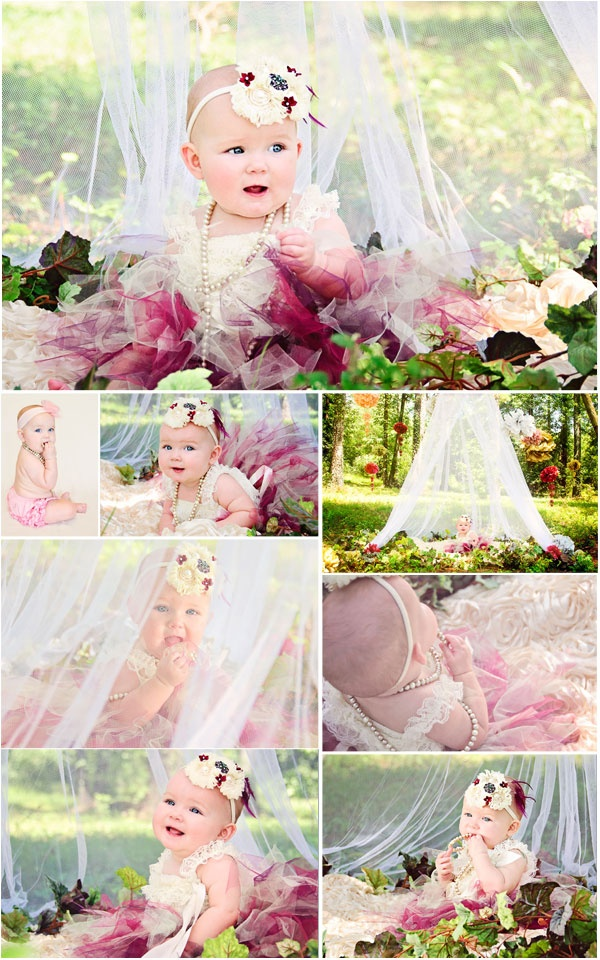 Secret Garden: 6 Month Photo Session   By Him, For Him Photography