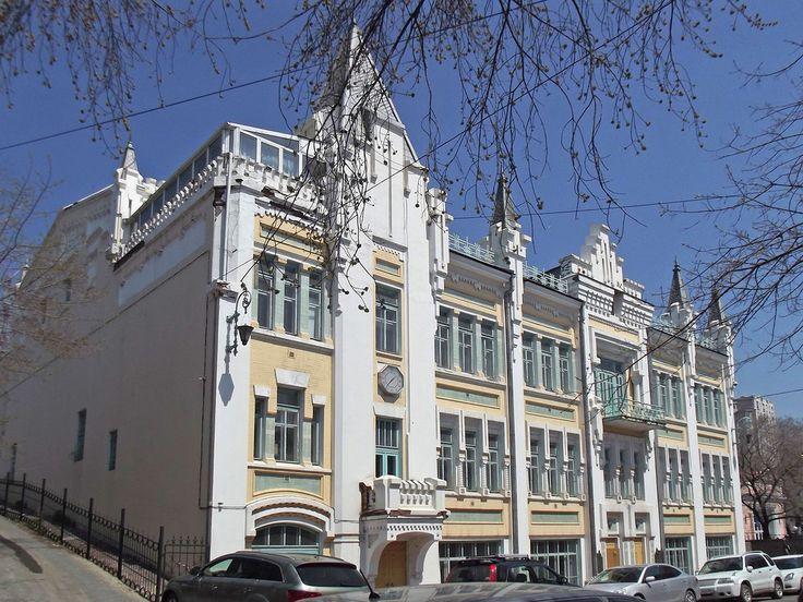 Владивосток,Vladivostok. Pushkin Theater.