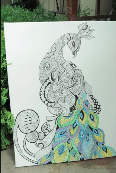 Sharpie art I'm gonna try this