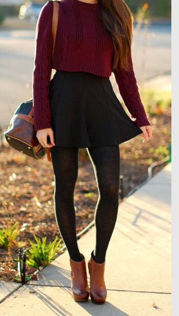 cutenfit.com cute thanksgiving outfits 7569 #cuteoutfits (Christmas Tumblr Outfits)