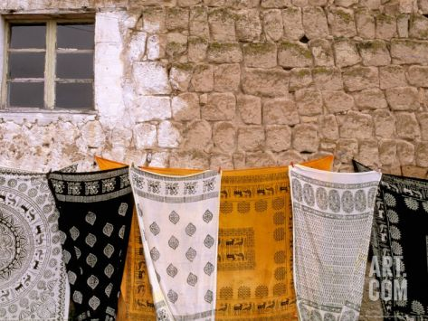 Seljuk Pattered Cloth, Cappadocia, TurkeyBy Walter Bibikow