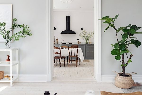 A simply stunning and calm Swedish space Alvhem. Stylist: Team Sarah Widman.