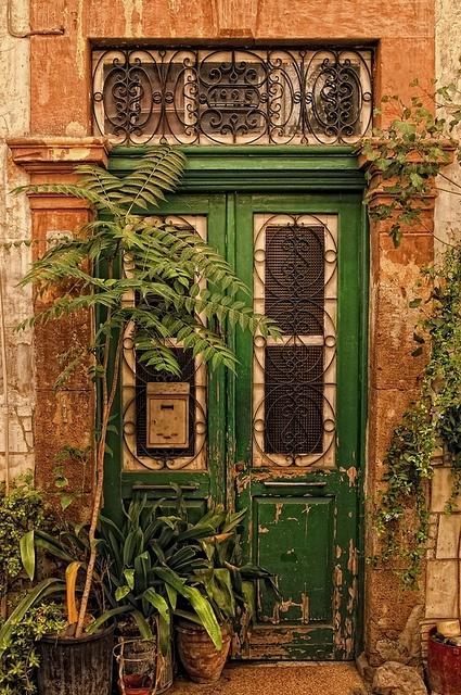 beautiful door in Nicosia, Cyprus.
