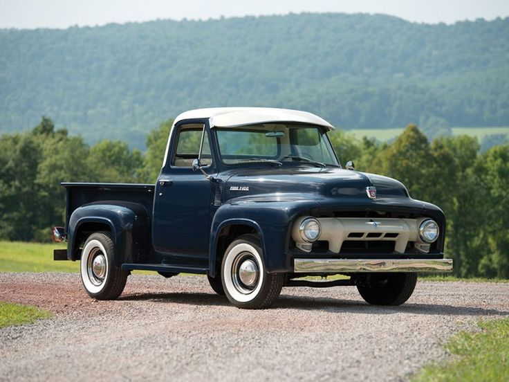 263 best ford trucks 39 53 39 56 images on pinterest classic. Black Bedroom Furniture Sets. Home Design Ideas