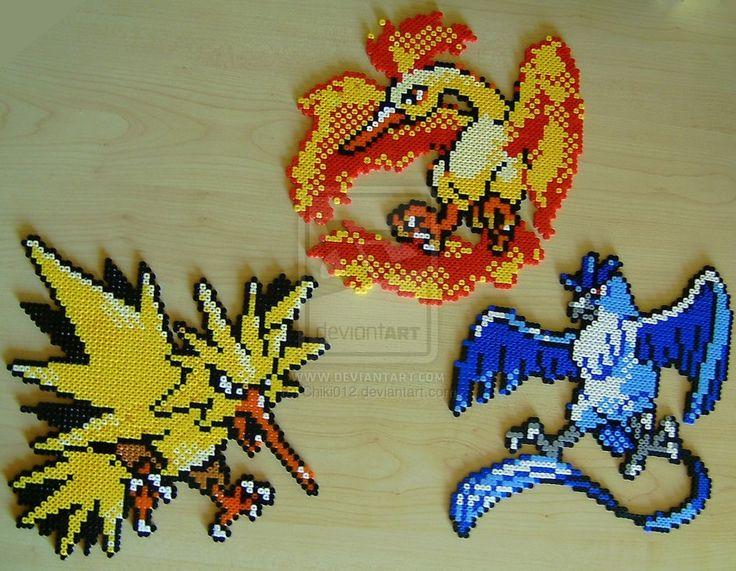 Pokemon sprite bead 5 by Chiki012.deviantart.com on @deviantART
