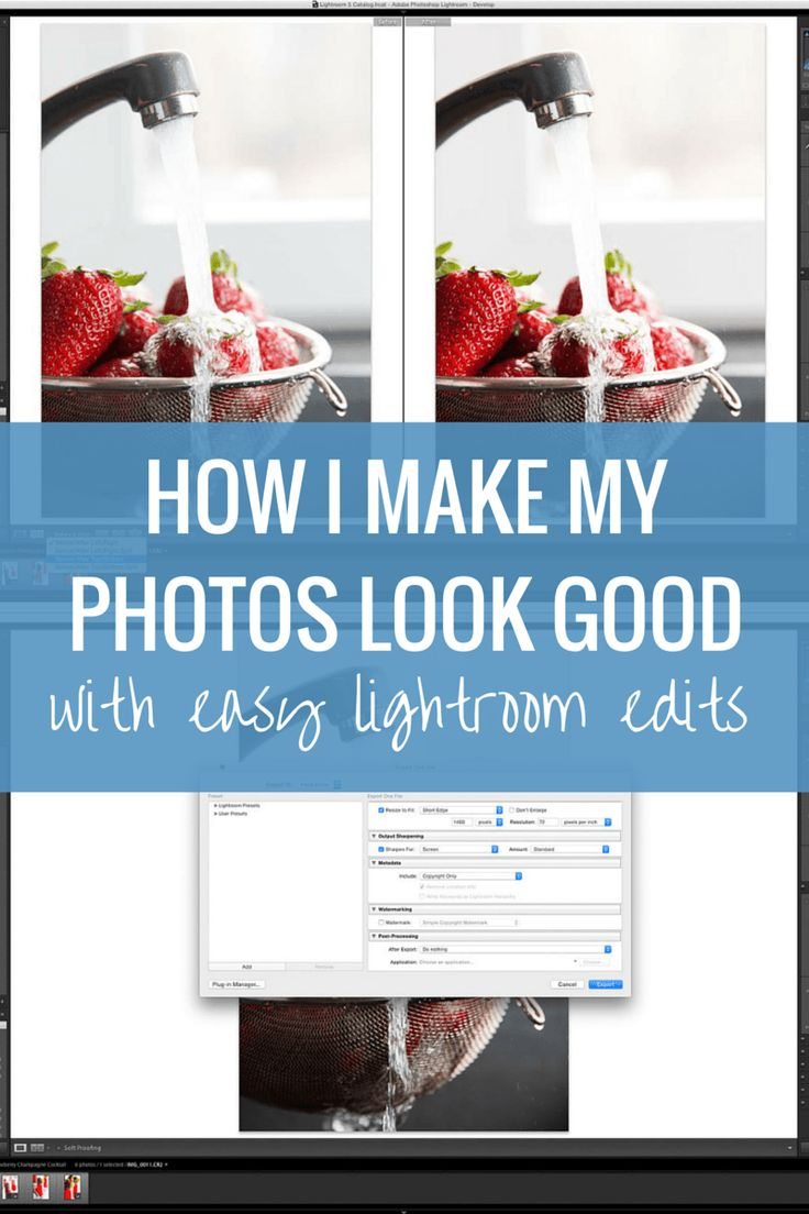 How I Make My Photos Look Good (Easy Lightroom Tutorial)