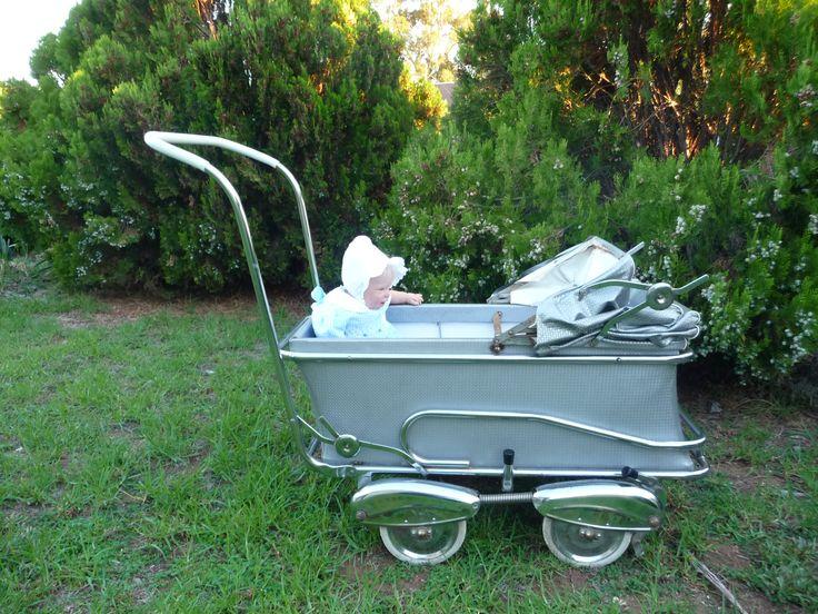 1950 S Pram Made In Melbourne Australia Vintage Baby