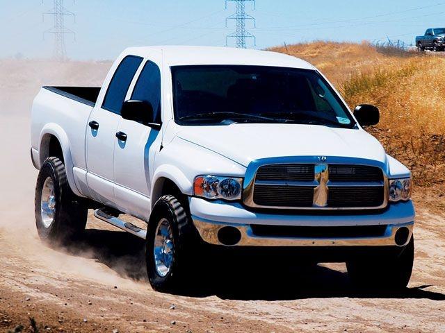 White Dodge Ram