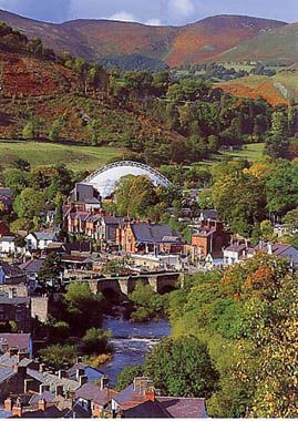Llangolen Wales. .beautiful***♡ I love Llangollen so much
