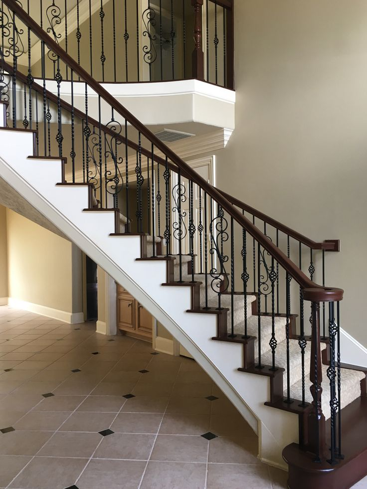 7588 best images about classic stairs balusters and for Stair remodel houston
