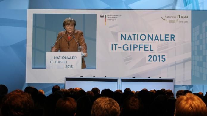Merkel auf dem IT-Gipfel: Datenschutz darf Big Data nicht verhindern – #auf #BIG…