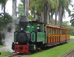 The Bally Hooley Railway at Port Douglas,Qld.