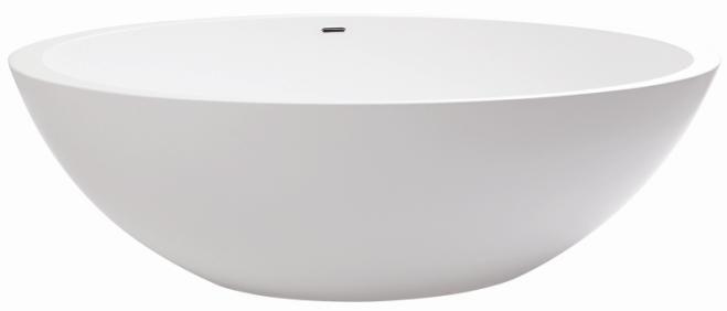 Marblo MoJo Oval 1500 Bath from Domayne Online