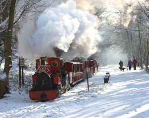 Santa Train at Rudyard Lake December 2009