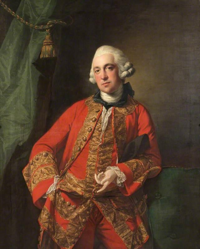 Richard Myddelton (1726�1795), MP, Francis Cotes, c.1762 (National ...