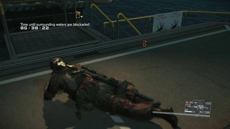 MGS5: FOB Infiltration Security LVL 70 (LETHAL + FATIGUE) Perfect Stealth