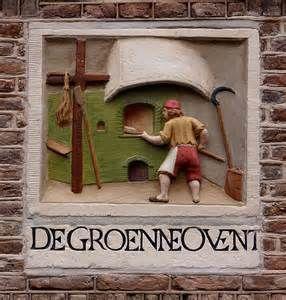 ... DE GROENNE OVENT by Vereniging Vrienden van Amsterdamse Gevelstenen