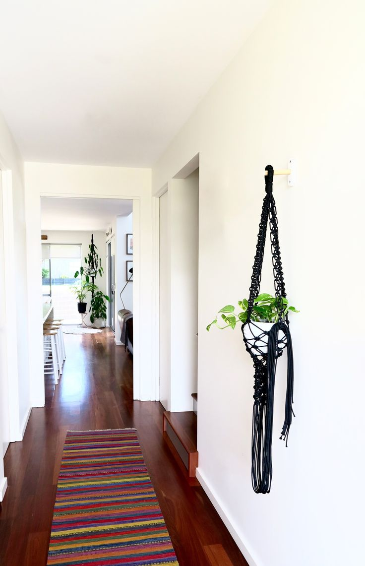 Made by Lucy macrame plant hangers. Individual and unique pieces.