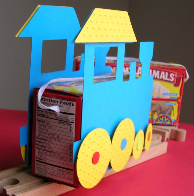 Choo Choo Train Birthday Party Favor (set of 8)
