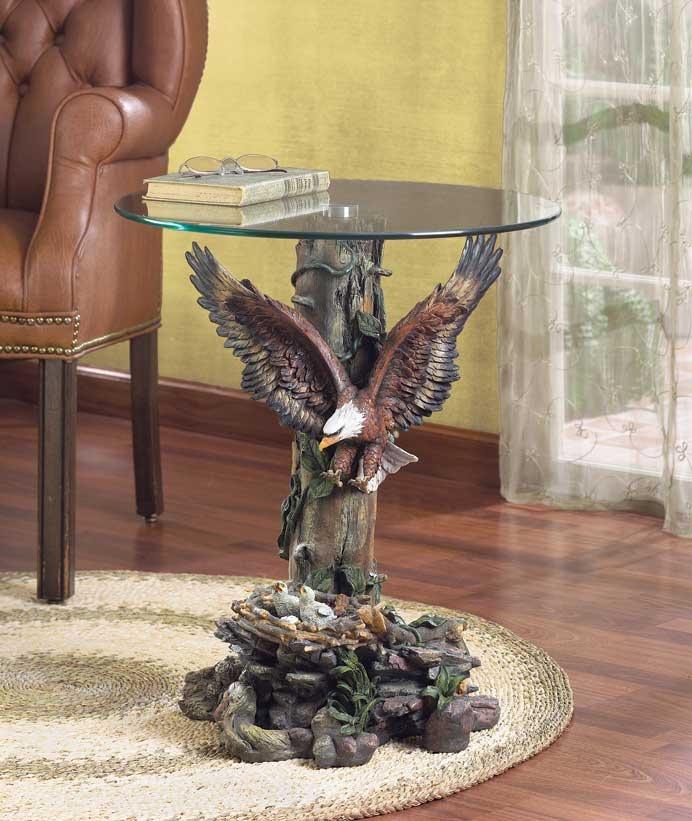 Eagle table for the home pinterest eagle and tables for The nest home decor