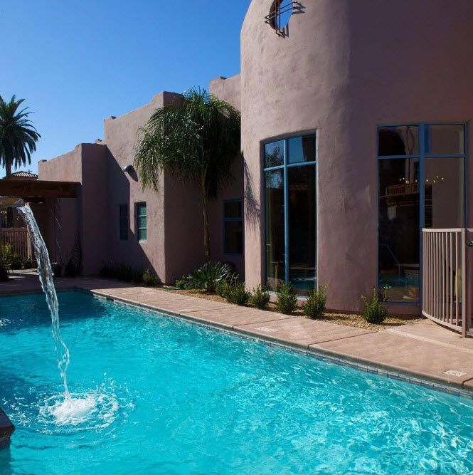 Cool off and relax at Lodge on the Desert | Situated on five acres in mid-town Tucson, AZ, against the majestic backdrop of the Santa Catalina Mountains |Tucson | Arizona | Places to Stay