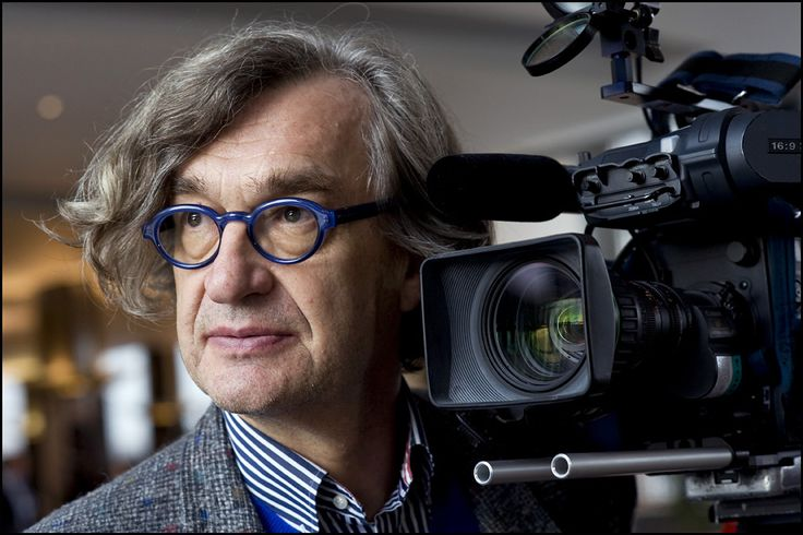 Wim Wenders, glasses and all for 3d