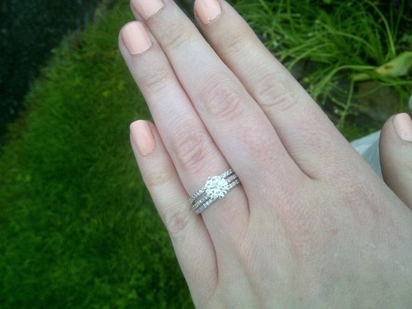 Can I please see you super skinny/thin wedding bands (2mm or less)? « Weddingbee Boards