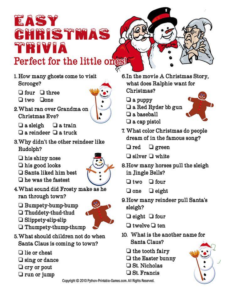 21 Best Christmas Trivia Images On Pinterest Christmas Movies Christmas Trivia And La La La