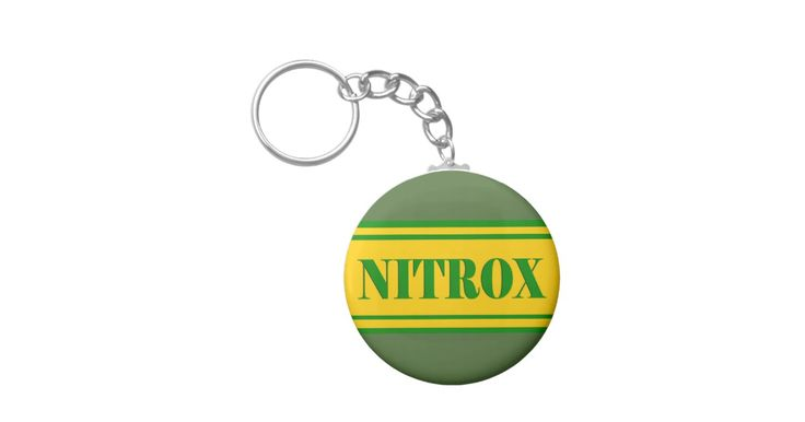 NITROX DIVING LOGO NITROX SCUBA DIVER - KEYCHAIN