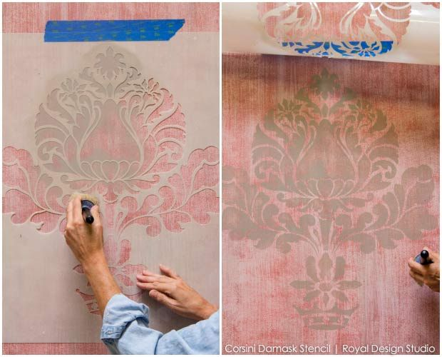 How To Do The Old Looking And Textured Walls I Love So Much How To Paint And Stencil Texture
