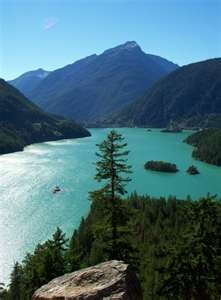 Diablo Lake, North Cascades National Park- freaking gorgeous!